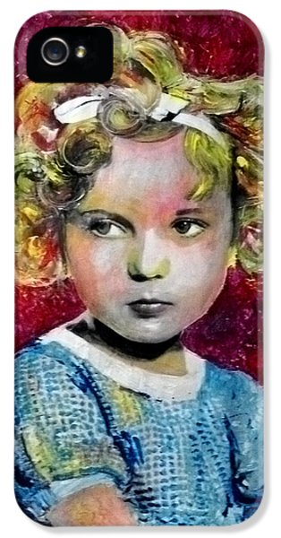 Shirley Temple iPhone 5s Case - Shirley Temple by Marcelo Neira