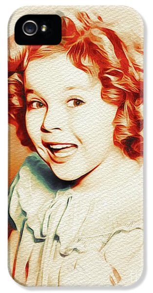 Shirley Temple iPhone 5s Case - Shirley Temple, Movie Star by John Springfield