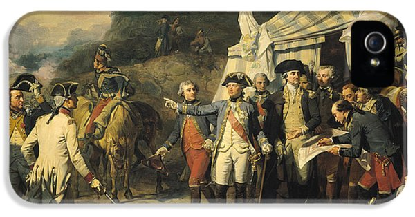 Siege Of Yorktown IPhone 5s Case by Louis Charles Auguste  Couder