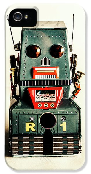 1950s iPhone 5s Case - Simple Robot From 1960 by Jorgo Photography - Wall Art Gallery
