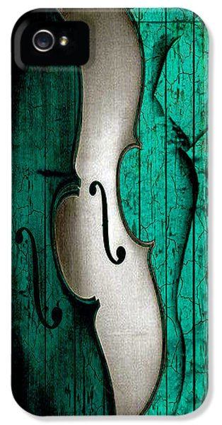 Violin iPhone 5s Case - Sinful Violin by Greg Sharpe
