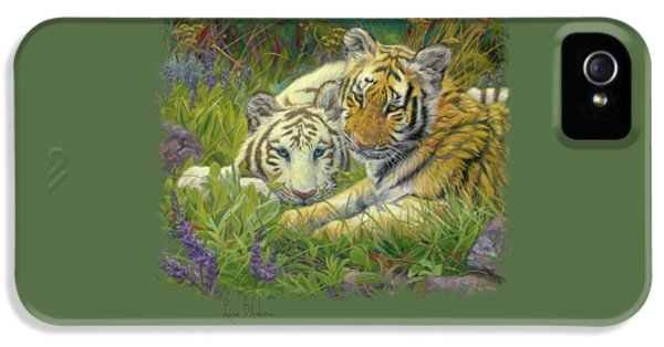 Sisters IPhone 5s Case by Lucie Bilodeau