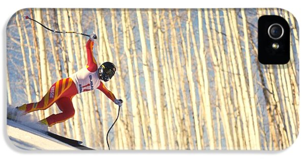 Skiing In Aspen, Colorado IPhone 5s Case