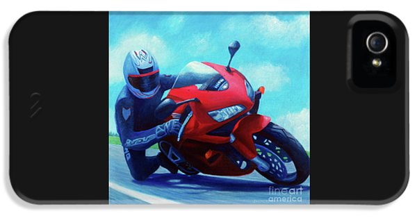 Sky Pilot - Honda Cbr600 IPhone 5s Case by Brian  Commerford