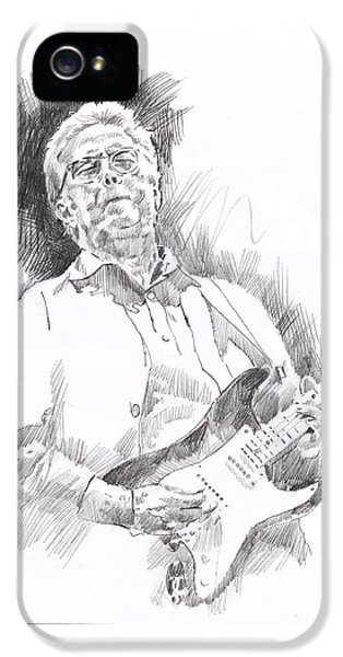 Slowhand IPhone 5s Case by David Lloyd Glover