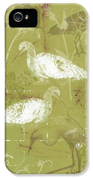Snowy Egrets IPhone 5s Case by Arline Wagner