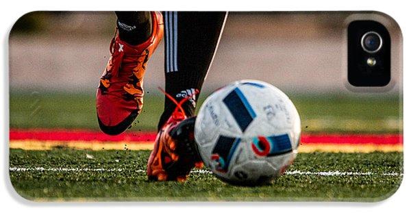 Soccer IPhone 5s Case by Hyuntae Kim