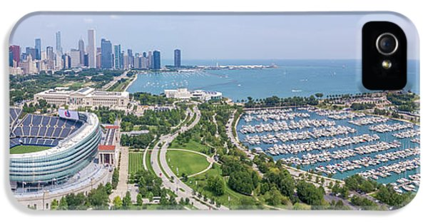 Soldier Field Panorama IPhone 5s Case