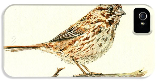 Song Sparrow IPhone 5s Case