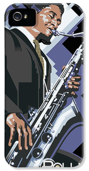 Sonny iPhone 5s Case - Sonny Rollins Tower Of Power by Garth Glazier