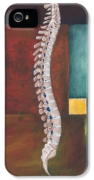 Doctor iPhone 5s Case - Spinal Column by Sara Young