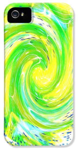 iPhone 5s Case - Spirit Of Nature I I by Orphelia Aristal