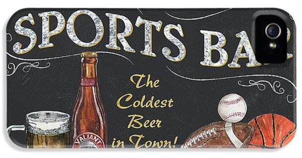 Sports Bar IPhone 5s Case by Debbie DeWitt