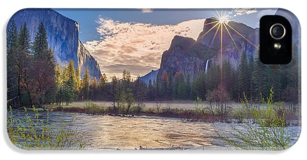 Spring Sunrise At Yosemite Valley IPhone 5s Case