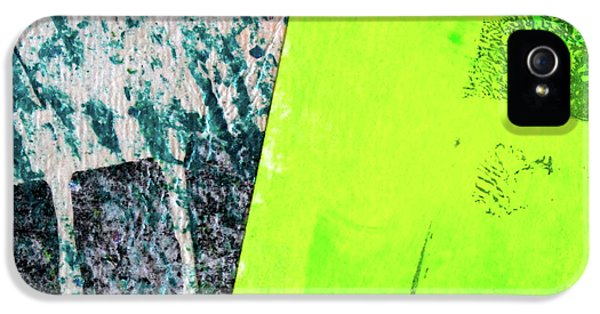 IPhone 5s Case featuring the mixed media Square Collage No 1 by Nancy Merkle