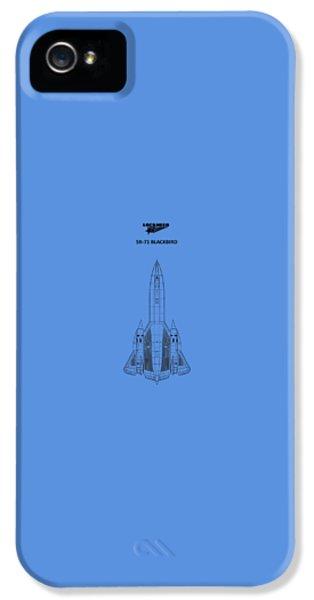 Sr-71 Blackbird IPhone 5s Case by Mark Rogan