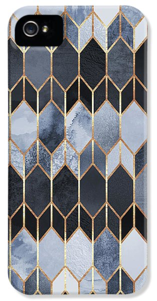 Pattern iPhone 5s Case - Stained Glass 4 by Elisabeth Fredriksson