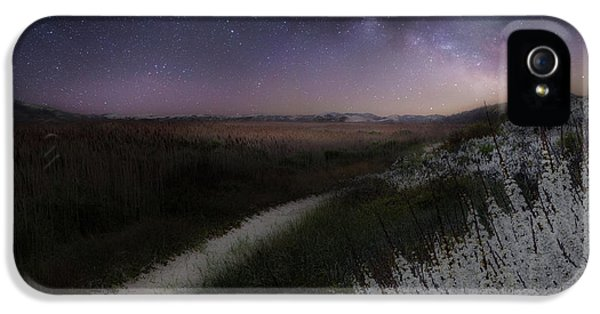 IPhone 5s Case featuring the photograph Star Flowers by Bill Wakeley