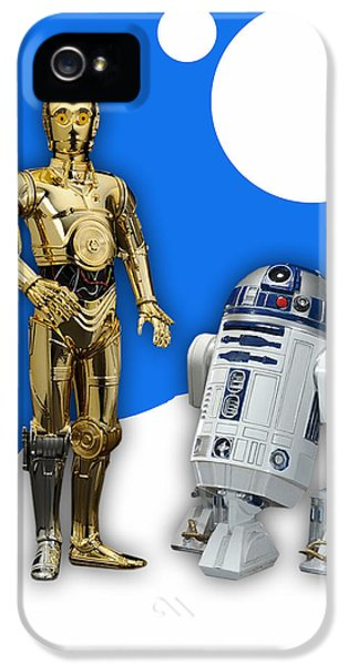 Star Wars C-3po And R2-d2 IPhone 5s Case