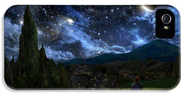 Starry Night IPhone 5s Case by Alex Ruiz