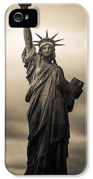Statute Of Liberty IPhone 5s Case