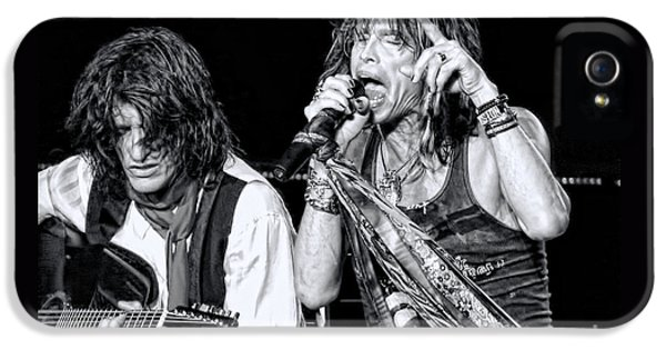 Steven Tyler Croons IPhone 5s Case by Traci Cottingham