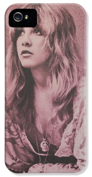 Music iPhone 5s Case - Stevie Nicks  by Donna Wilson