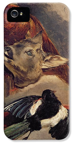 Magpies iPhone 5s Case - Still Life Of Game by Theodore Gericault
