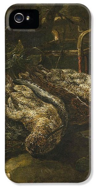 Woodcock iPhone 5s Case - Still Life With Woodcocks by Jan Fyt