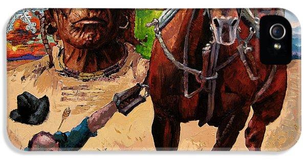 Horse iPhone 5s Case - Stolen Land by John Lautermilch