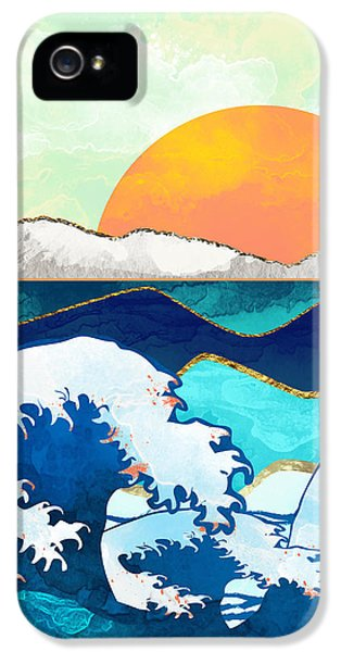 Landscapes iPhone 5s Case - Stormy Waters by Spacefrog Designs