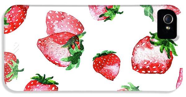 Strawberries IPhone 5s Case