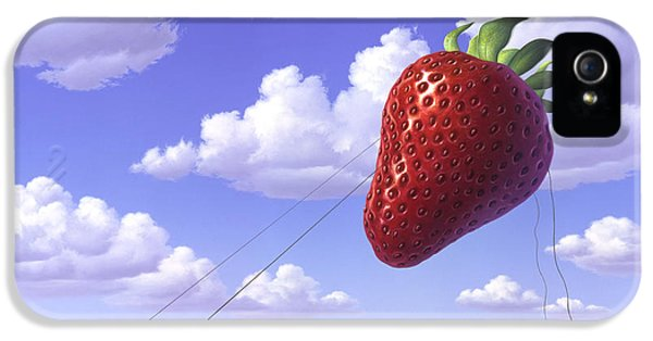 Strawberry Field IPhone 5s Case