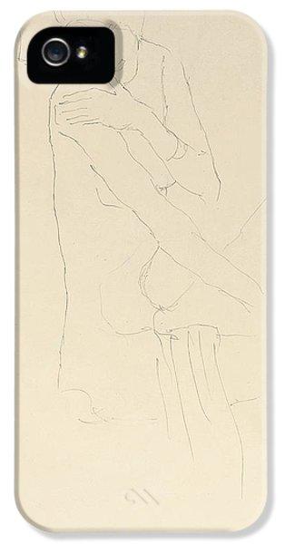 Study For Adele Bloch Bauer II IPhone 5s Case by Gustav Klimt