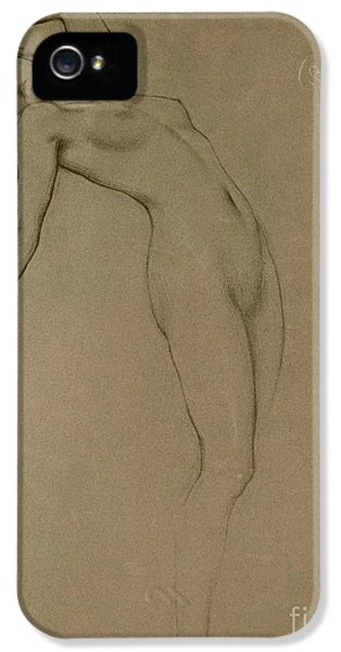 Etching iPhone 5s Case - Study For Clyties Of The Mist by Herbert James Draper