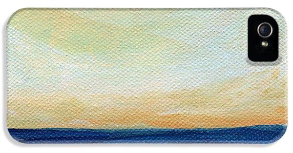Sun Swept Coast- Abstract Seascape IPhone 5s Case