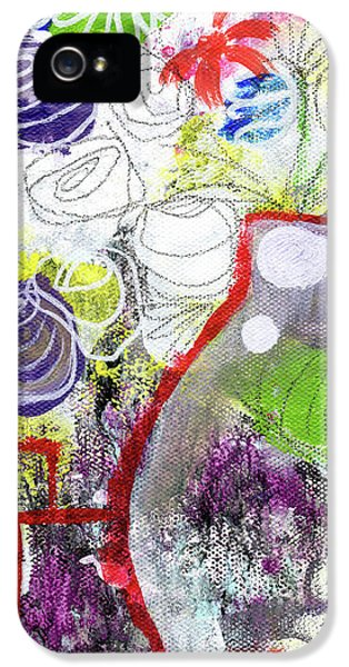 Tulip iPhone 5s Case - Sunday Market Flowers 3- Art By Linda Woods by Linda Woods