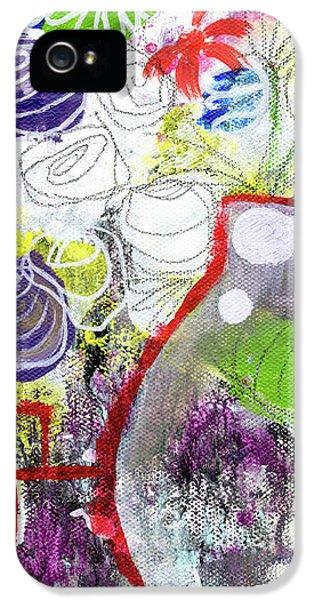Sunday Market Flowers 3- Art By Linda Woods IPhone 5s Case by Linda Woods