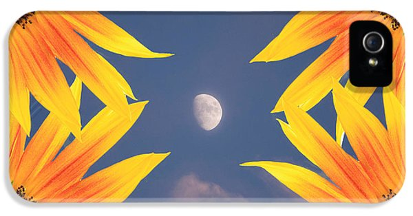 Sunflower Moon IPhone 5s Case by James BO  Insogna