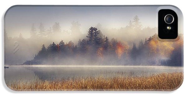 Sunrise In Lake Placid  IPhone 5s Case by Magda  Bognar