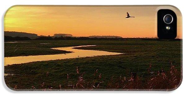 Amazing iPhone 5s Case - Sunset At Holkham Today  #landscape by John Edwards