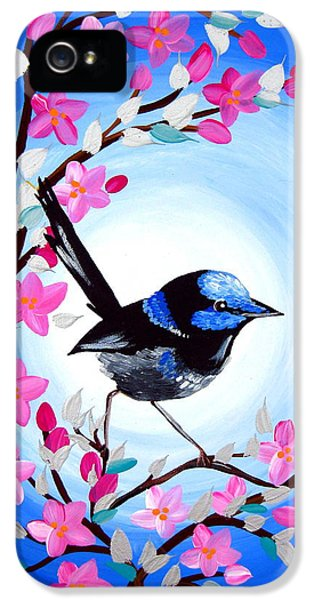 Superb Fairy Wren IPhone 5s Case by Cathy Jacobs