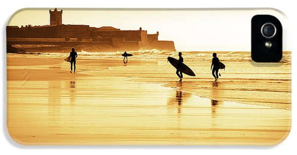 Surfers Silhouettes IPhone 5s Case