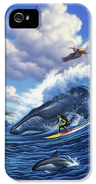 Pelican iPhone 5s Case - Surf's Up by Jerry LoFaro