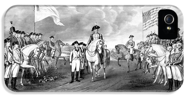 Surrender Of Lord Cornwallis At Yorktown IPhone 5s Case by War Is Hell Store