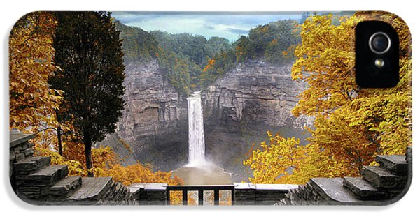 Taughannock In Autumn IPhone 5s Case by Jessica Jenney