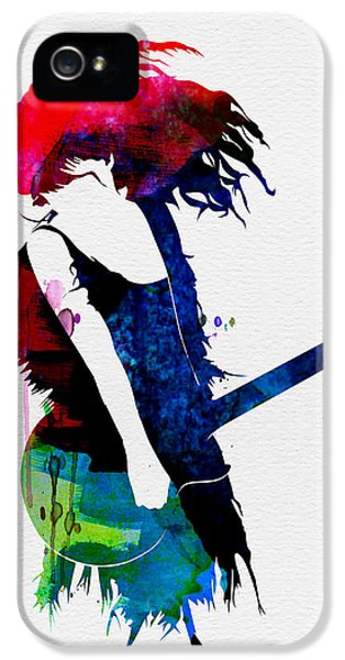 Taylor Watercolor IPhone 5s Case by Naxart Studio
