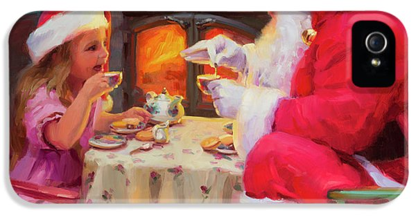 Kettles iPhone 5s Case - Tea For Two by Steve Henderson