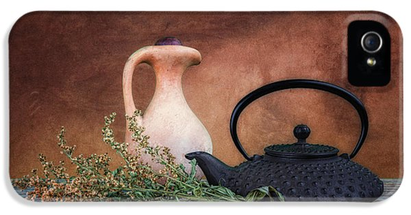 Kettles iPhone 5s Case - Teapot With Pitcher Still Life by Tom Mc Nemar