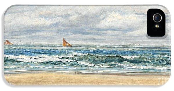 Water Ocean iPhone 5s Case - Tenby by John Brett